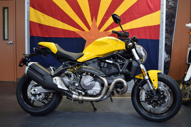 84ab1d641be 2018 Ducati Monster 821 Yellow