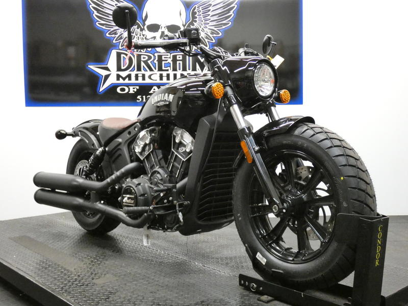 2019 Indian Motorcycle® Scout® Bobber Thunder Black | Dream