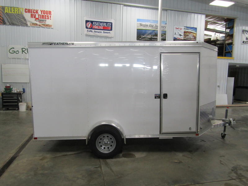 "2019 Featherlite Trailers 1610 Cargo Utility 12' (6'6"" High ... on"