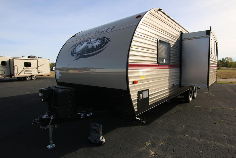 2018 forest river cherokee grey wolf 23dbh 3239 krenek rv for Grey wolf fish house