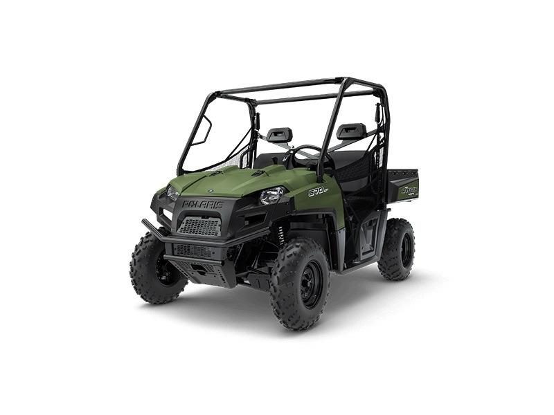 2018 Polaris Ranger-570-Full-Size-Sage-Green