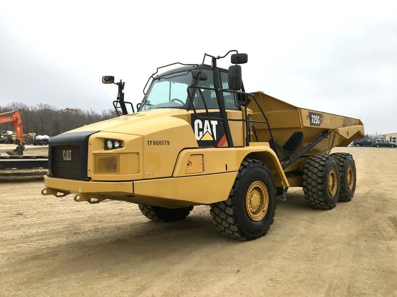 2014 CATERPILLAR 725C DUMP TRUCK 543274 Dump Truck