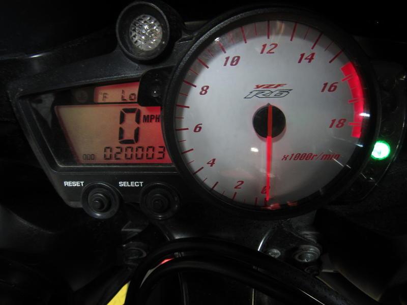 2003 Yamaha YZFR6 6