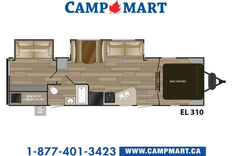 2018 Cruiser Rv Embrace El310 Camp Mart
