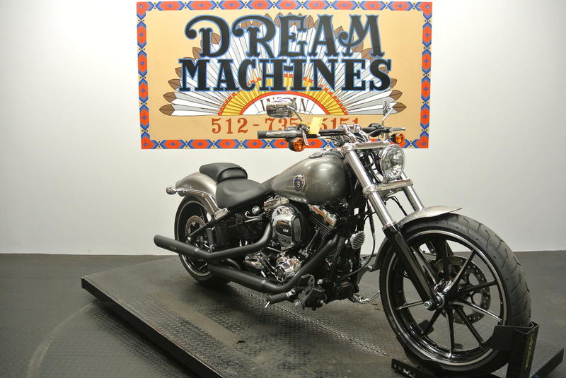 Dream Machines Indian 2016 Harley-Davidson FXSB - Softail Breakout  314 Miles Ch