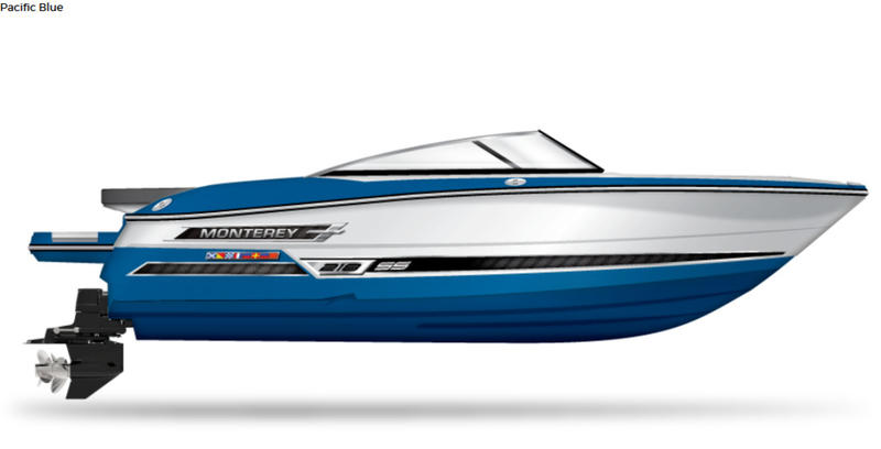 2020 Monterey boat for sale, model of the boat is 218 SS & Image # 1 of 2