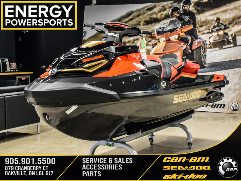 2019 Sea Doo PWC boat for sale, model of the boat is RXT®-X® 300 IBR & Sound System Eclipse Black and Lava Red & Image # 1 of 16