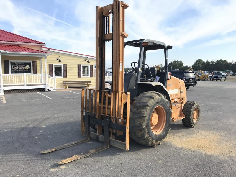 USED 2012 CASE 586G-III FORKLIFT EQUIPMENT #599320