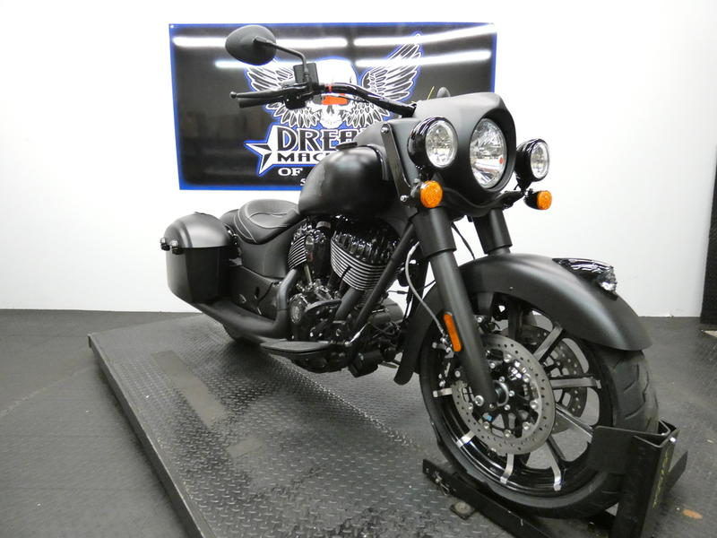 2019 Indian Motorcycle® Springfield® Dark Horse® Thunder Black Smoke