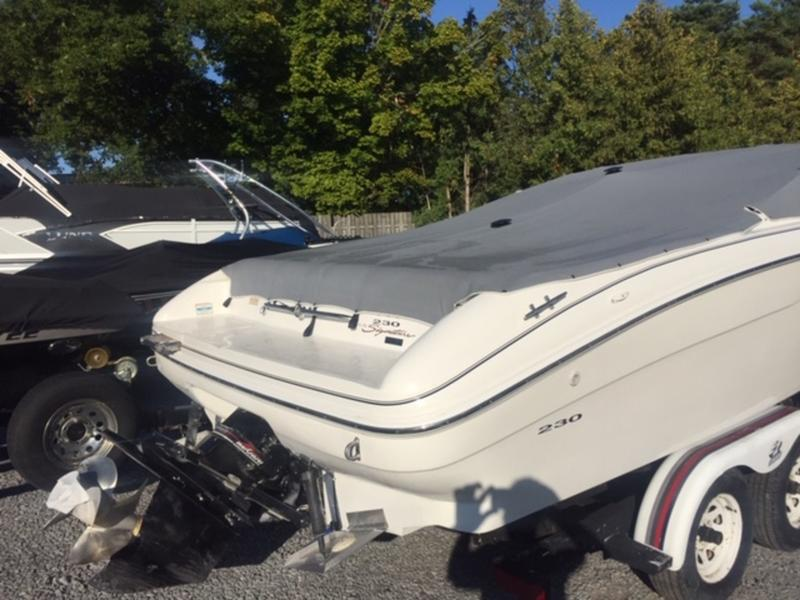 1997 Sea Ray boat for sale, model of the boat is 230 BR & Image # 3 of 8