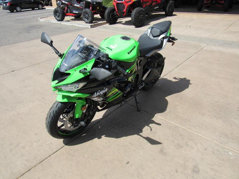2019 Kawasaki Ninja Zx 6r Abs Krt Edition Ridenow Goodyear