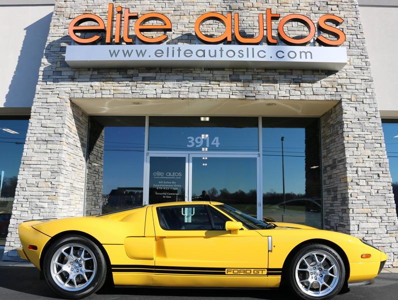 2006 ford gt only 111 original miles yellow ford gt elite autos llc rh eliteautosllc com