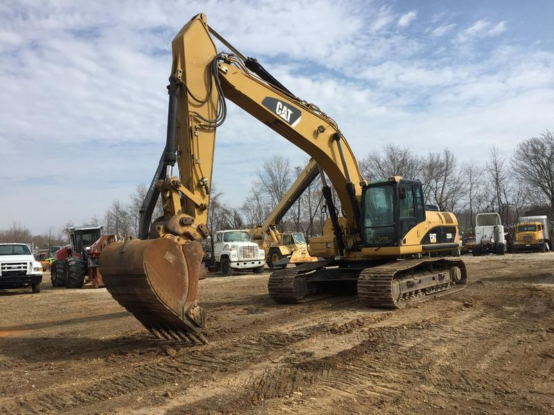 USED 2007 CATERPILLAR 325DL EXCAVATOR EQUIPMENT #563761