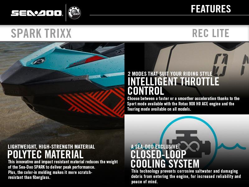 2018 Sea-Doo SPARK® TRIXX™ 3-up Rotax 900 HO ACE | Riva