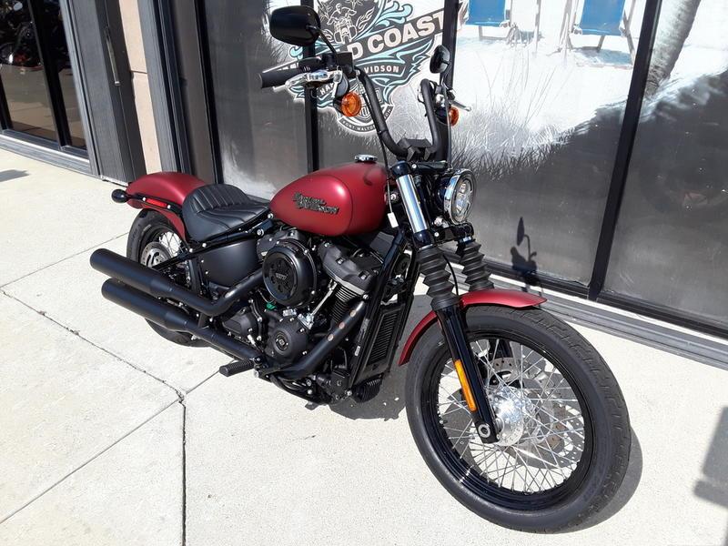 2019 Harley-Davidson® FXBB - Softail® Street Bob® | Emerald