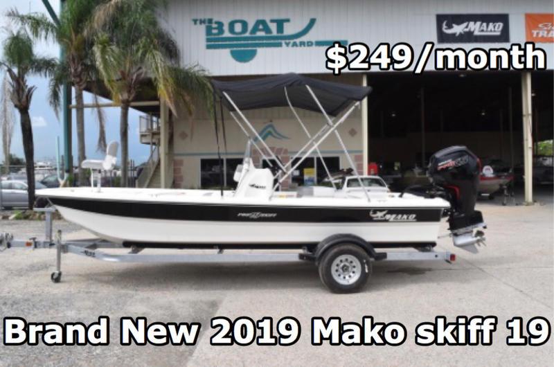 New  2019 Mako Pro Skiff 19 CC Center Console in Marrero, Louisiana