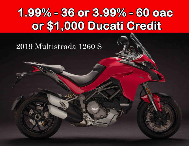Sensational 2019 Ducati Multistrada 1260 S Ducati Red Good Times Caraccident5 Cool Chair Designs And Ideas Caraccident5Info