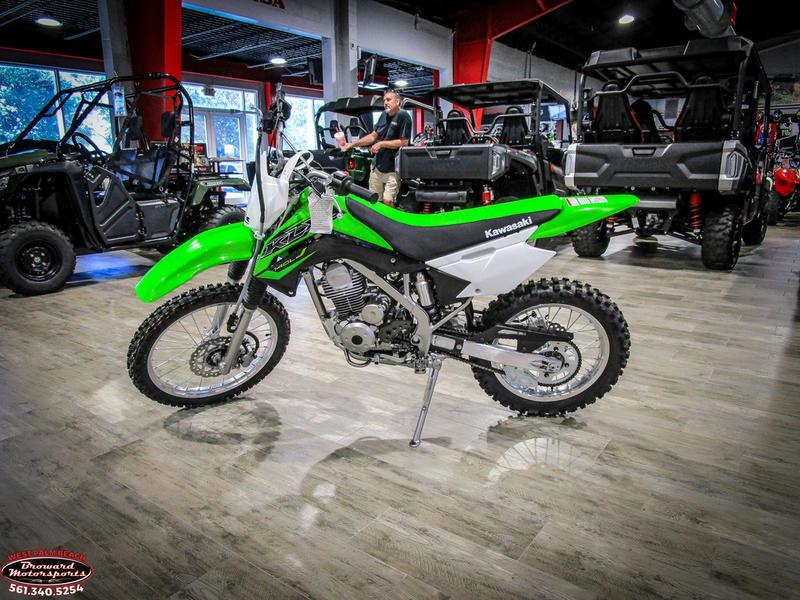 2019 Kawasaki KLX 140L 4