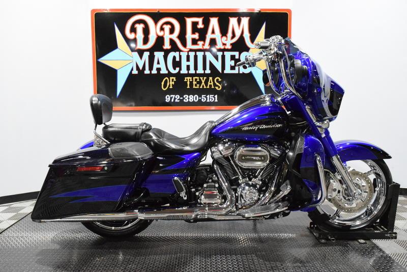 "Harley Davidson 7/"" Cobalt Indigo Blue LED Headlight CVO Street Glide FLHXSE"