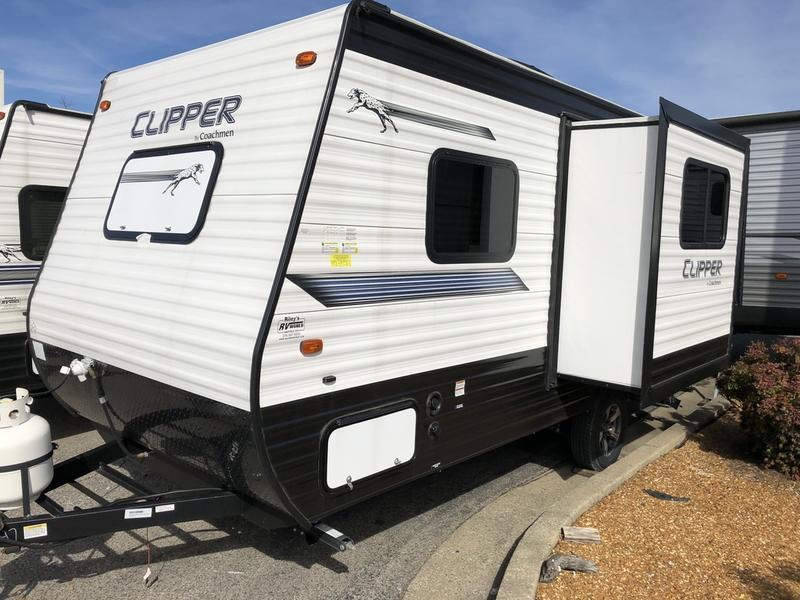 2019 Coachmen Clipper Ultra-Lite 17FQS 1747 | Riley's RV World