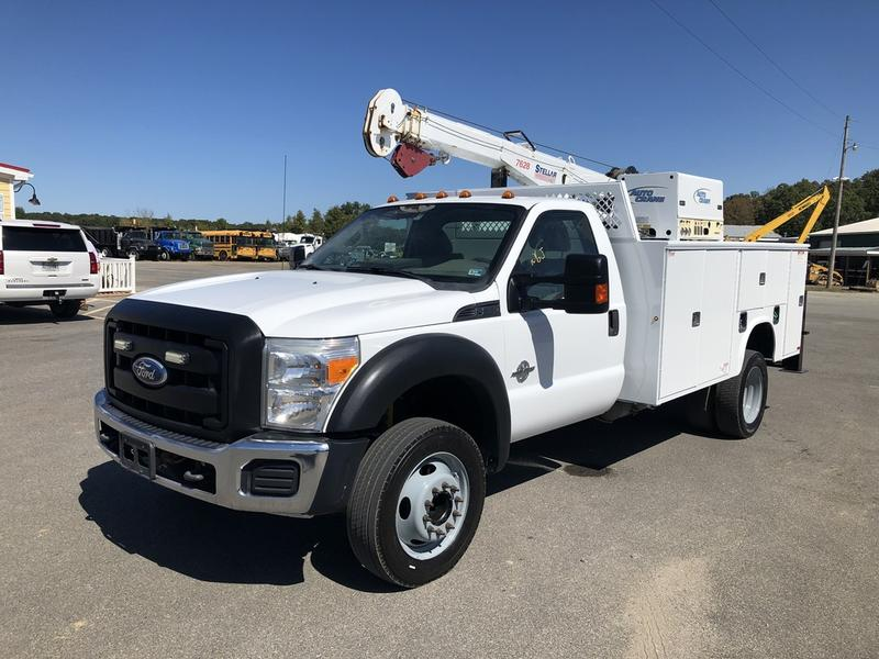 USED 2011 FORD F550 SERVICE - UTILITY TRUCK #654646