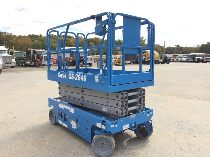 2017 GENIE GS2646 SCISSOR LIFT EQUIPMENT #534686