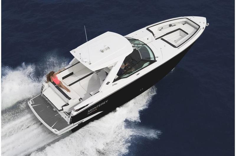 2020 Monterey boat for sale, model of the boat is 378SE & Image # 3 of 3
