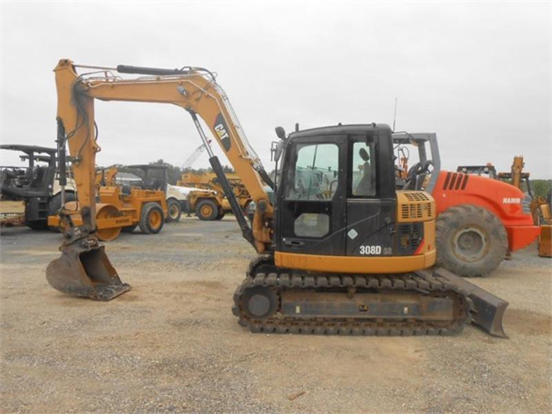 2009 CATERPILLAR 308D CR Crawler Excavator