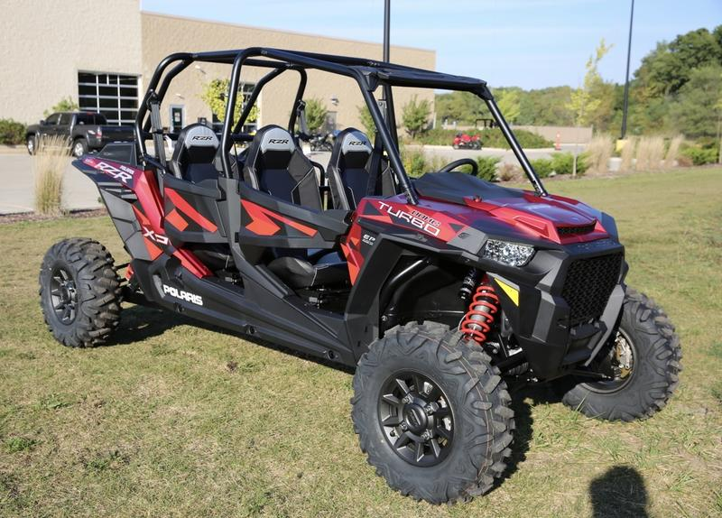 2018 Polaris RZR XP 4 Turbo EPS FOX Edition Matte Sunset Red for sale 72595