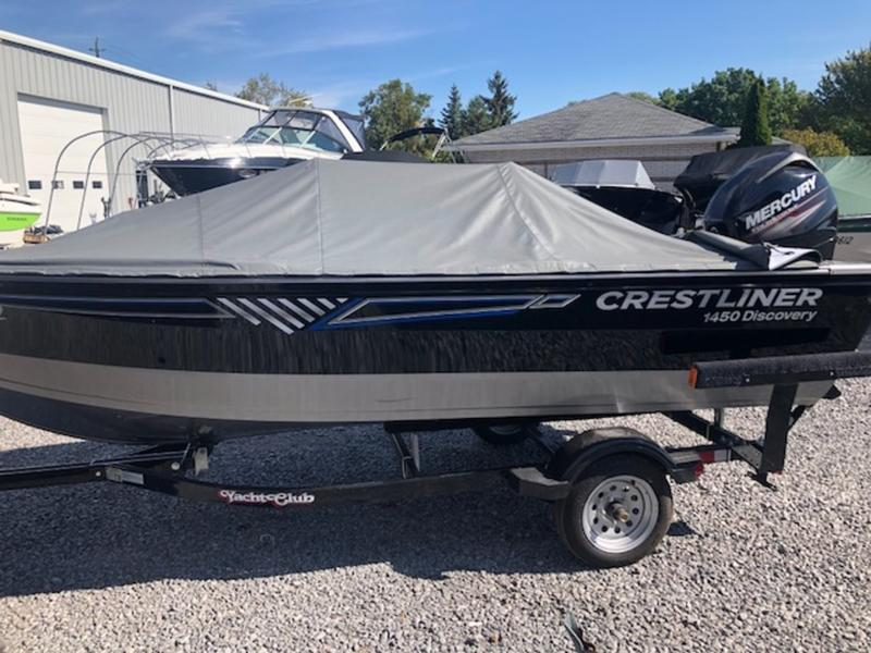 For Sale: 2016 Crestliner 1450 Discovery ft<br/>Bay Marine