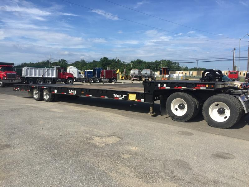 USED 2014 TALBERT 35 LOWBOY TRAILER #378035