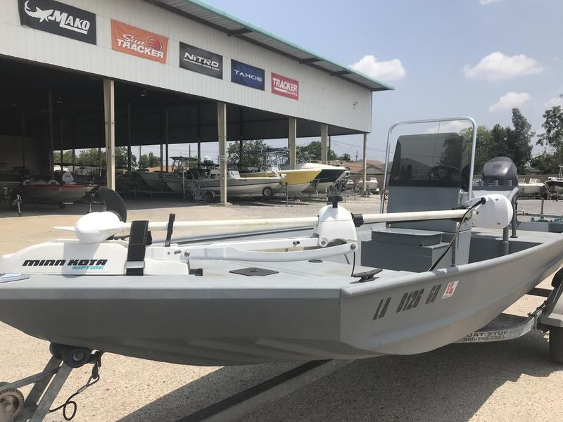 Used  2014 Alweld Angler 1752 Aluminum Fish Boat in Marrero, Louisiana