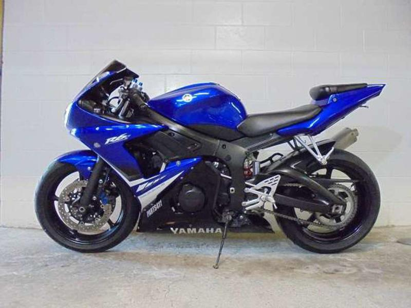 2008 Yamaha R6 8
