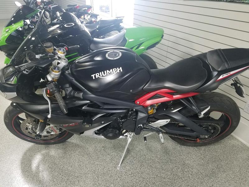 616-432-6262 CONTACT VILLAGE MOTORSPORTS OF GRAND RAPIDS TODAYTHE MILEAGE ON THIS BIKE IS 9243