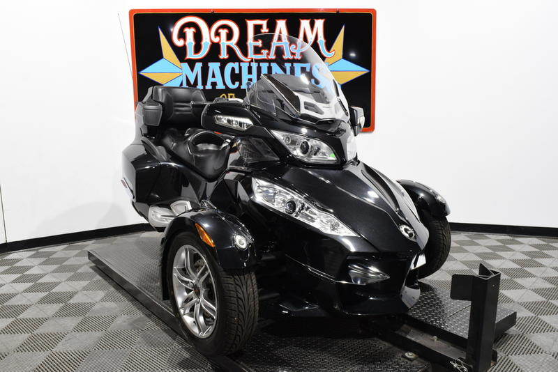 Can-Am Spyder RT-S SM5 -- Dream Machines of Texas 2011 Can-Am Spyder RT-S SM5  15962 Miles Black
