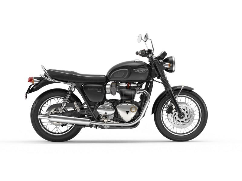 2018 Triumph Bonneville T120 Jet Black for sale 59407