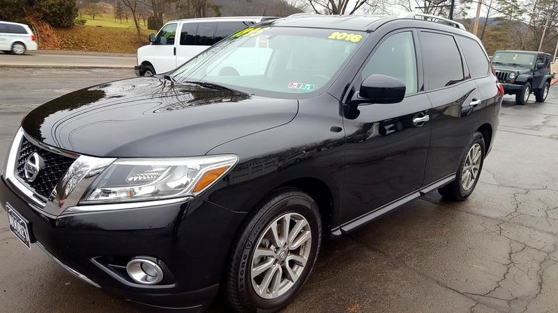 2016 Nissan Pathfinder Sv 4x4 3839 Moore S Auto Sales Amp Rvs