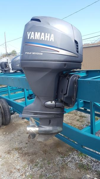 Used 2003 yamaha f115 four stroke 115hp 25inch shaft 126 for Yamaha dealers in louisiana