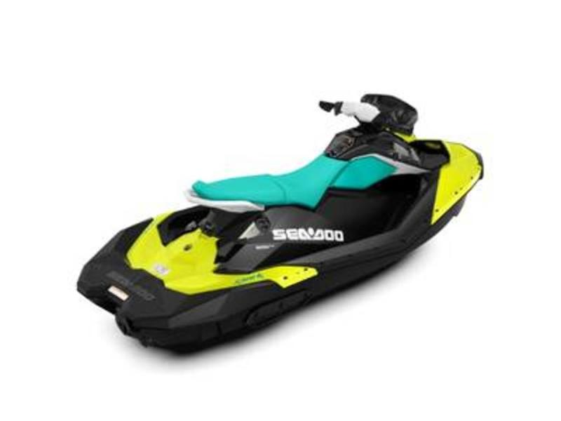 For Sale: 2019 Sea Doo Pwc Spark 3up Ibr Pineapple/candy Blue Invoice Pricing ft<br/>Bay Marine