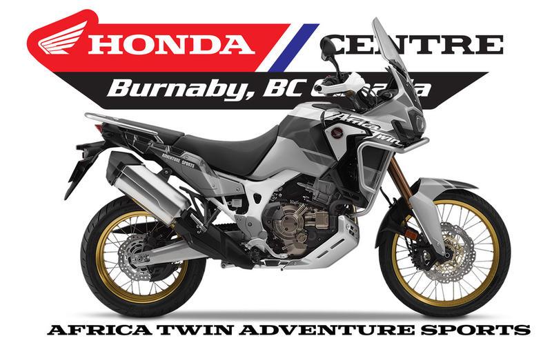 2019 Honda® Africa Twin Adventure Sports | Honda Centre