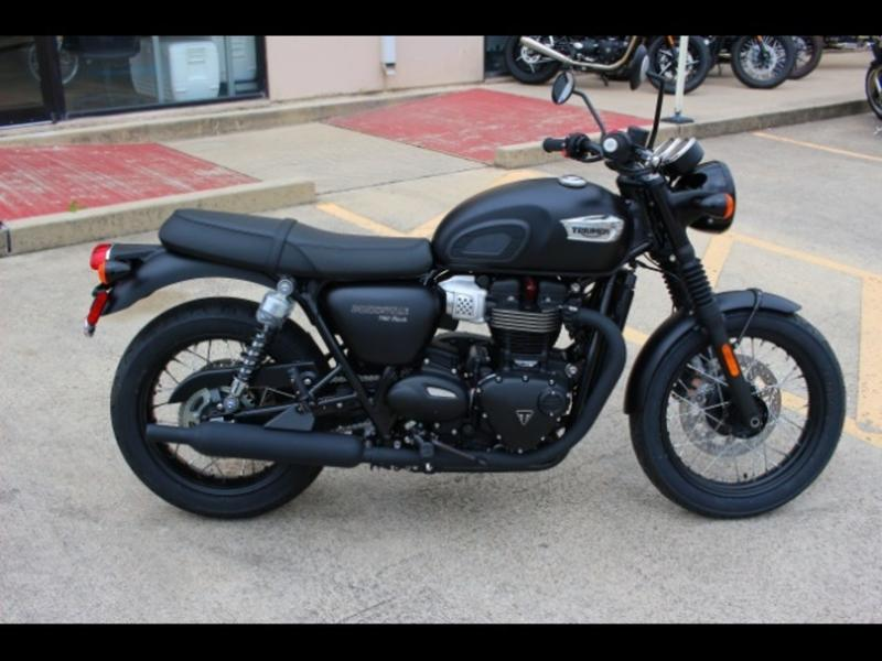 Wondrous 2019 Triumph Bonneville T100 Black Matt Black Ctx Motoworks Spiritservingveterans Wood Chair Design Ideas Spiritservingveteransorg