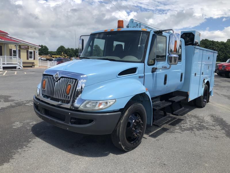 USED 2008 INTERNATIONAL 4300 SBA SERVICE - UTILITY TRUCK #636836