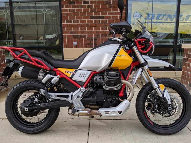 2020 Moto Guzzi V85 TT Adventure | Windy City Triumph
