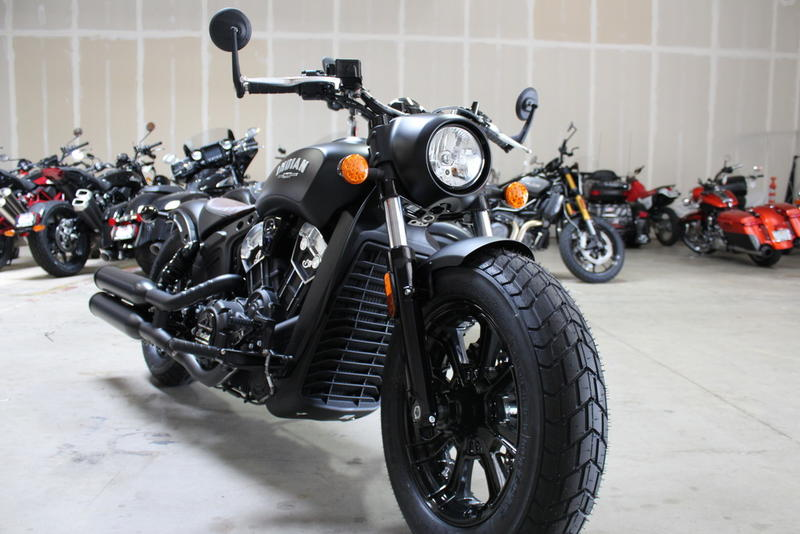 2020 Indian Motorcycle® Scout® Bobber ABS Thunder Black ...