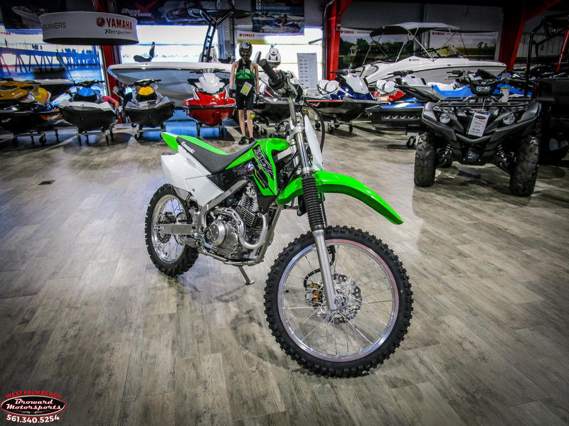 2019 Kawasaki KLX 140L 1