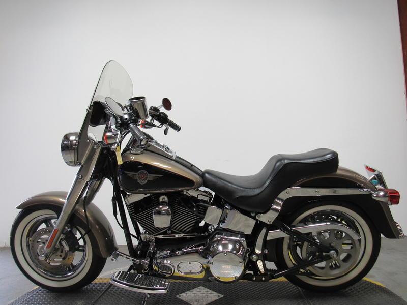 2004 Harley-Davidson FLSTF - Fat Boy 8