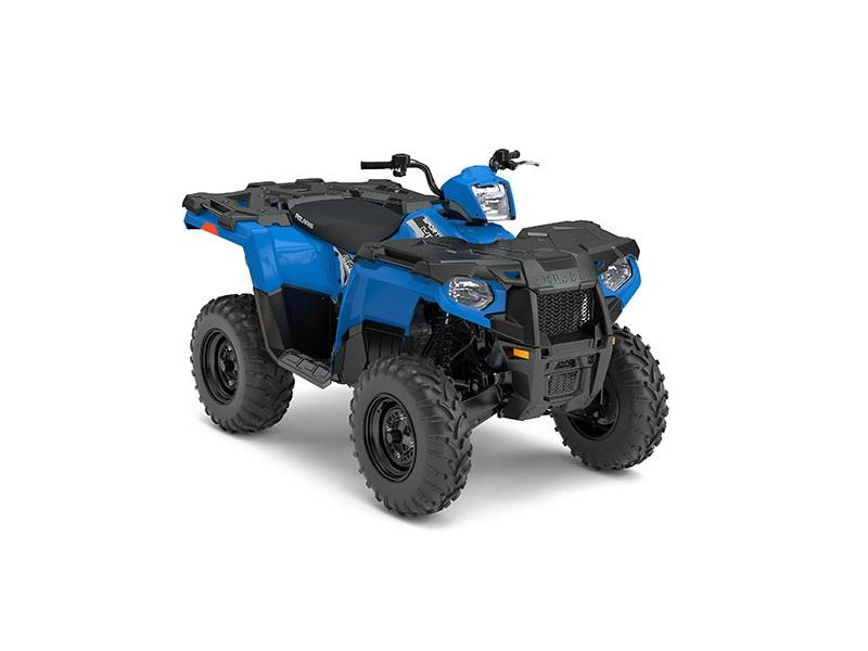 2018 Polaris Sportsman-450-H-O-Velocity-Blue