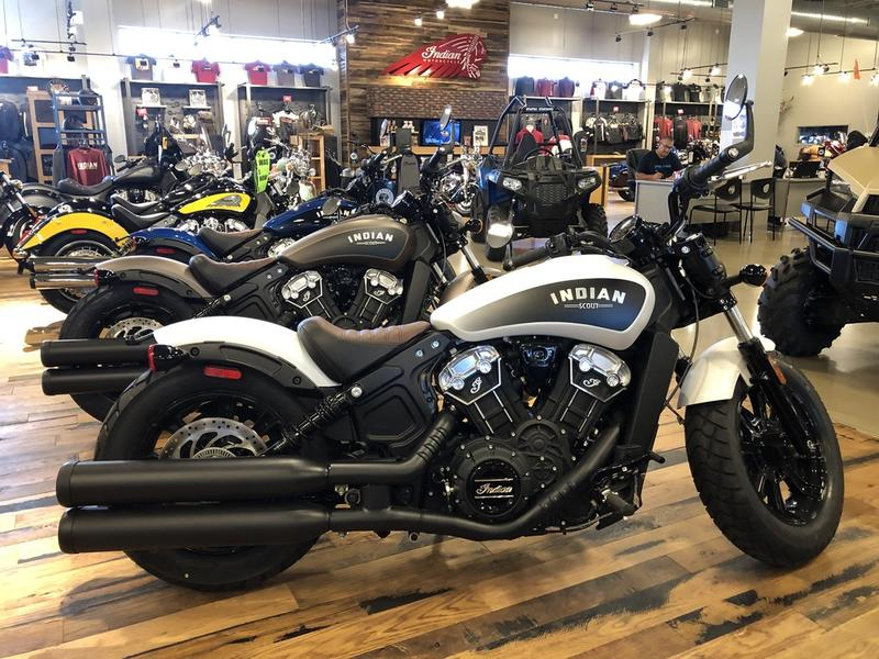 2019 Indian Motorcycle® Scout® Bobber ABS White Smoke