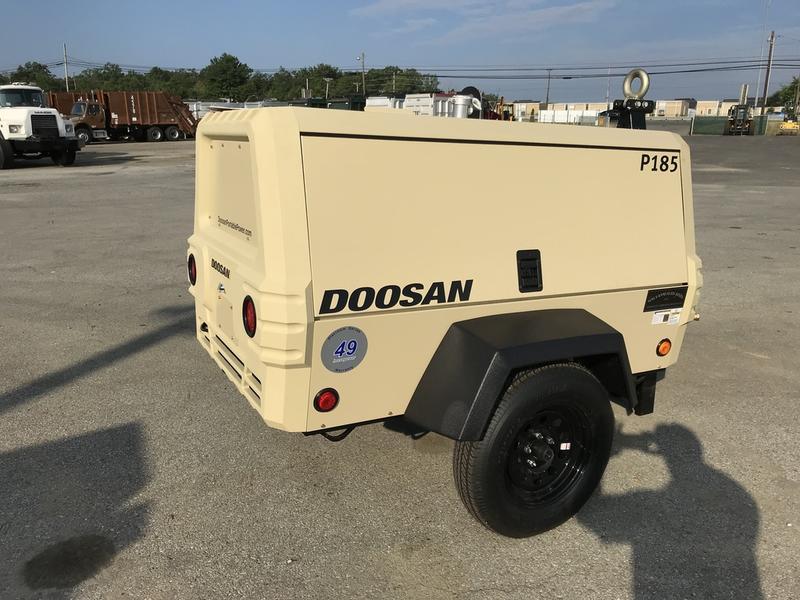 2018 DOOSAN P185WD0 AIR COMPRESSOR 583671 Air Compressor