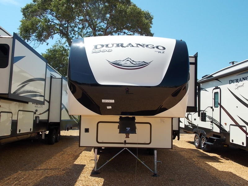 New  2018 KZ RV Durango® 1500 D259RDD Fifth Wheel in  McComb, Mississippi